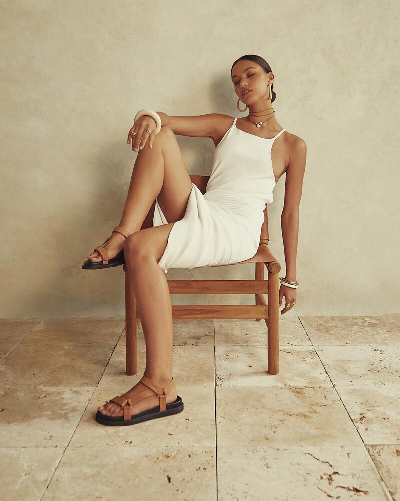Sugar Brown Dad Sandals