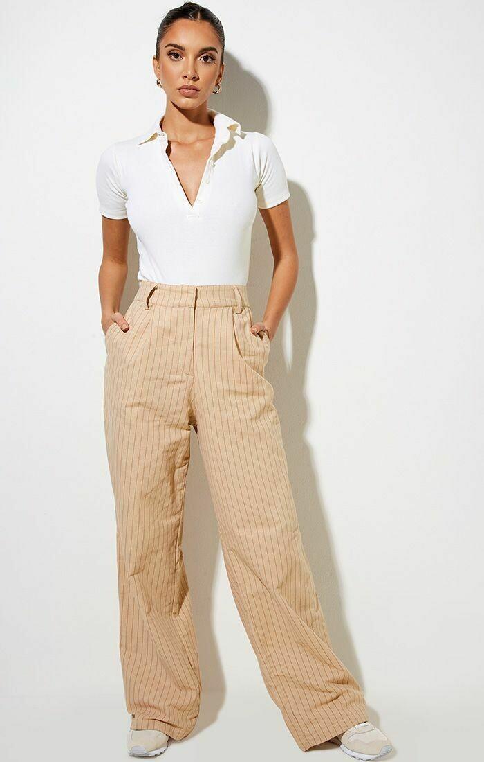 Pencil Stripe Trouser Pants