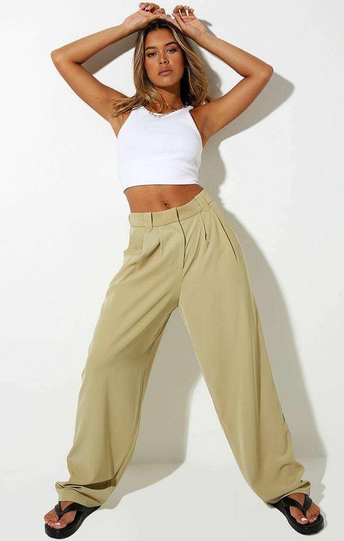 Green Trouser Pants