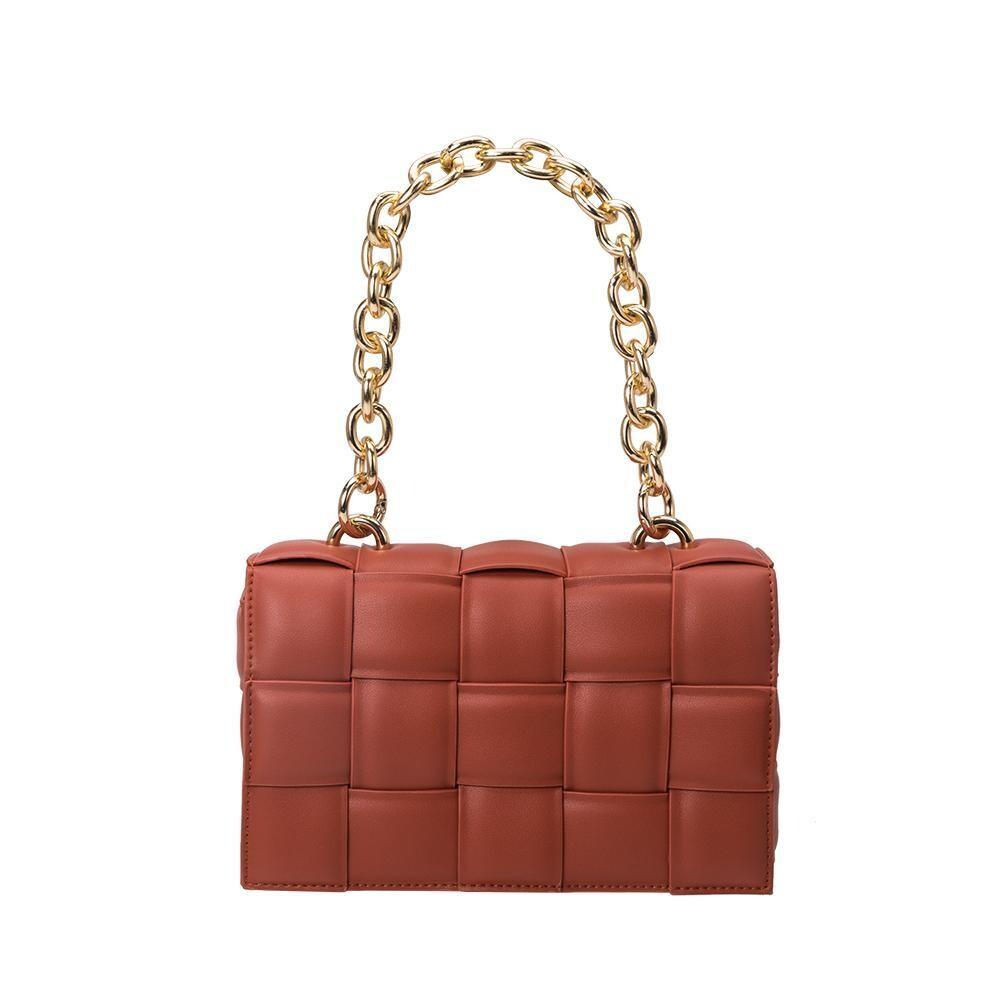 Rust Quilted Bag