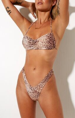 Sand Leopard Bikini Bottoms