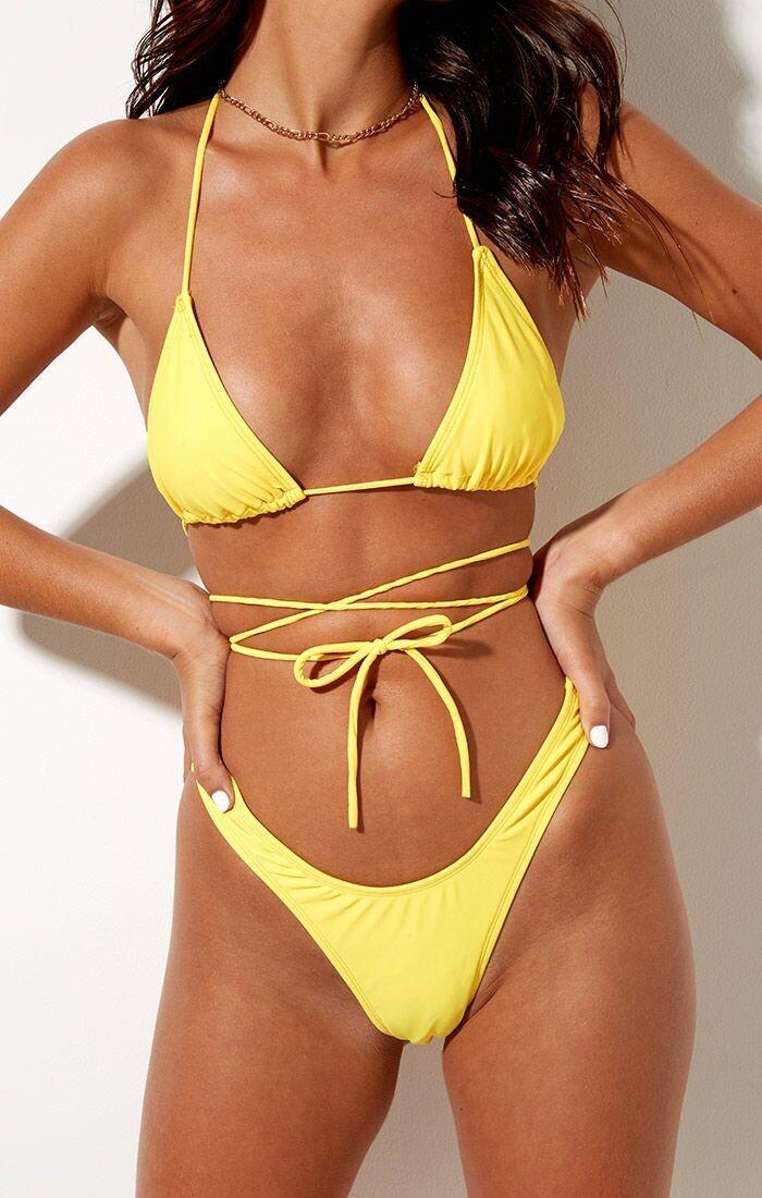 Honey Bikini Bottoms