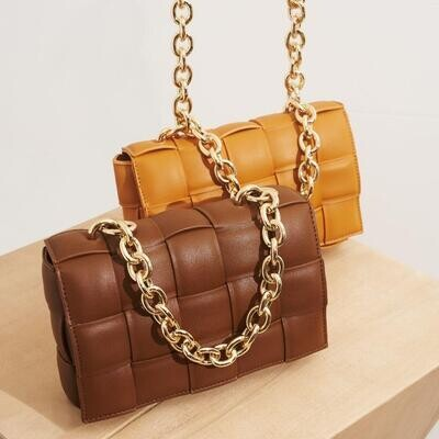 Chocolate Quilted Bag
