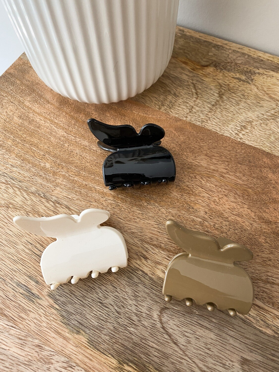 Neutral Butterfly Clip Pack