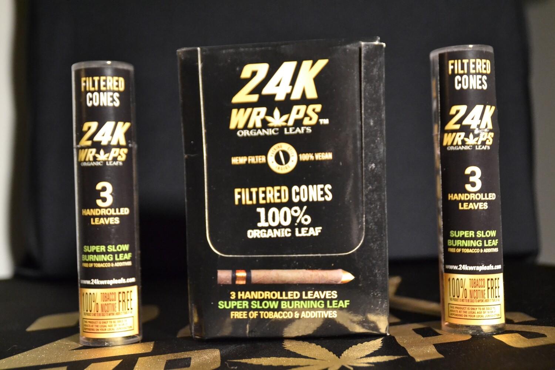 24K Wraps 12 Pack Display Box