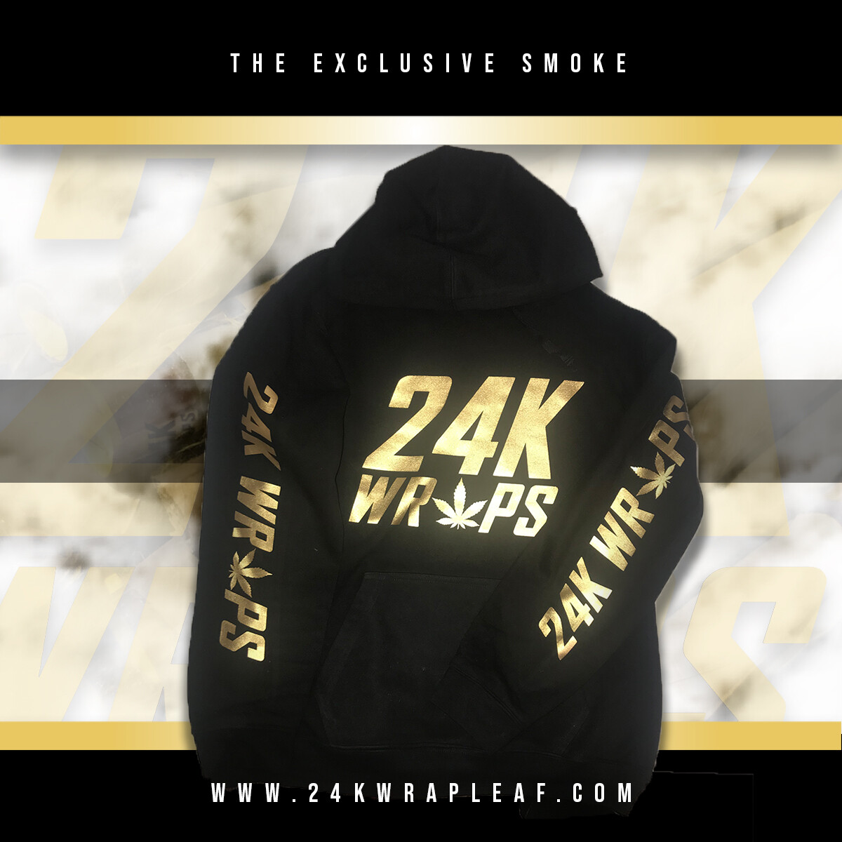 24K Wraps KING Hoodie - Men's