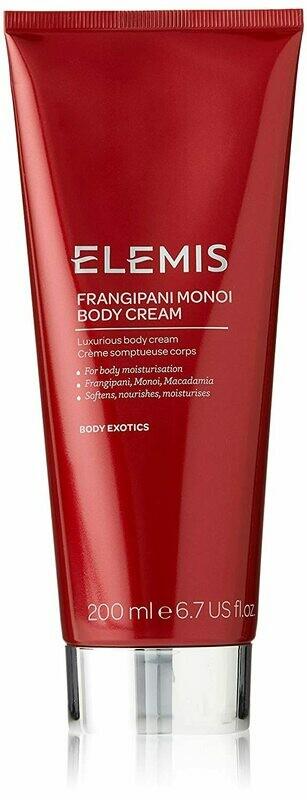 ELEMIS Frangipani Monoi Body Cream, 200ml