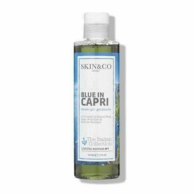 SKIN&CO Blue in Capri Shower Gel