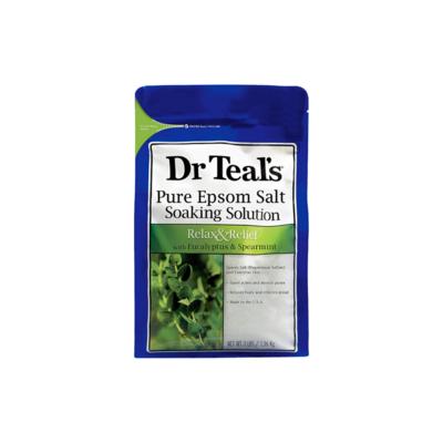 Sales de epsom con eucalipto y menta verde Dr Teals