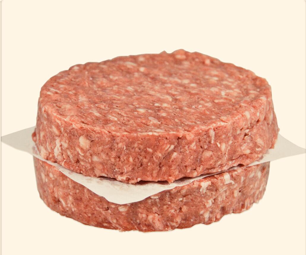 Beef Patties 80/20  20/8oz Patties