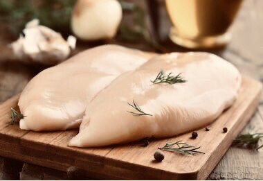 Chicken Breast 6oz 1/5lb