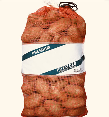 Potato Russet 80 Ct Ida. 1/50lb Bag