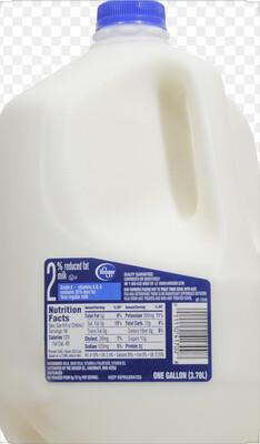 Milk 2% Reduced Fat Gallon