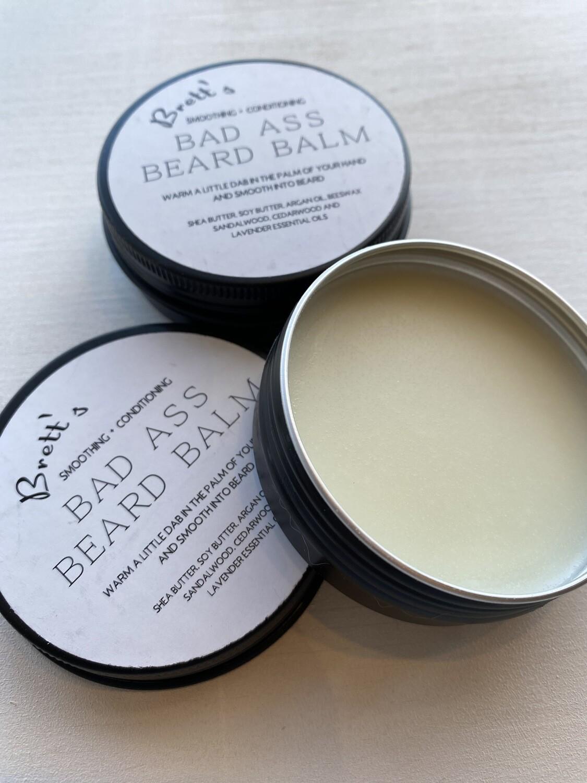 Brett's Bad Ass Beard Balm