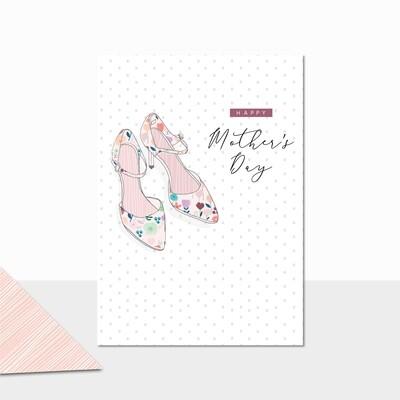 "CARTE DE VŒUX ""HAPPY MOTHERS DAY"""