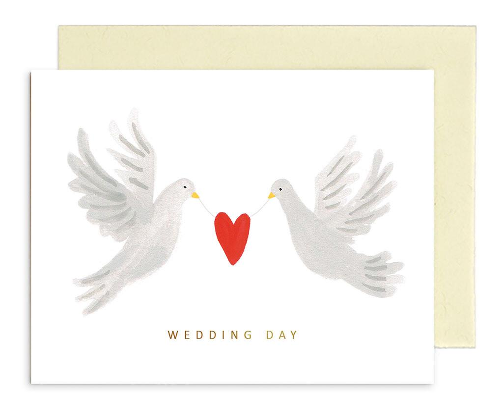 """CARTE DE VŒUX """"WEDDING DAY"""""""