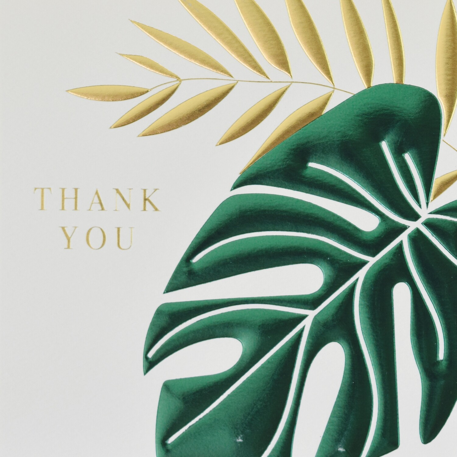 "CARTE DE VŒUX ""THANK YOU"""