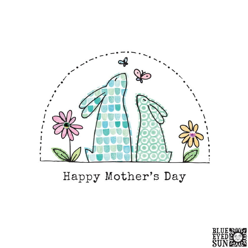"CARTE DE VŒUX ""HAPPY MOTHER'S DAY"""