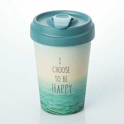 """BAMBOO CUP """"CHOOSE HAPPY"""""""