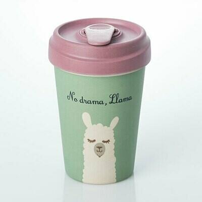 "BAMBOO CUP ""DRAMA LLAMA"""