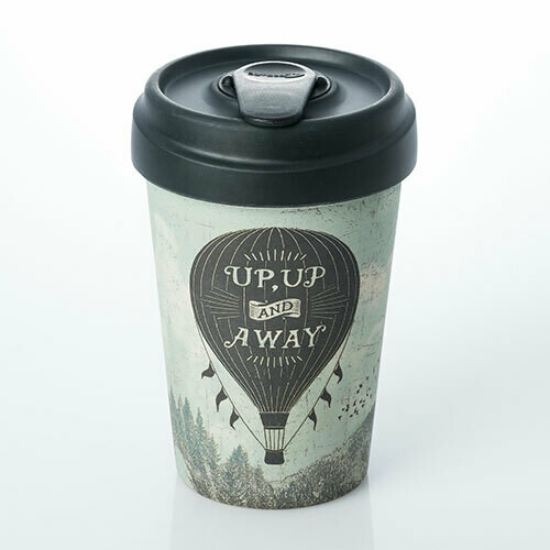 """BAMBOO CUP """"UP AND AWAY"""""""