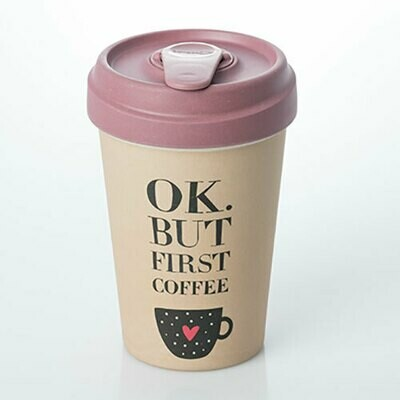 """BAMBOO CUP """"COFFEE FIRST"""""""