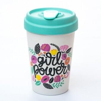 "BAMBOO CUP ""GIRL POWER"""