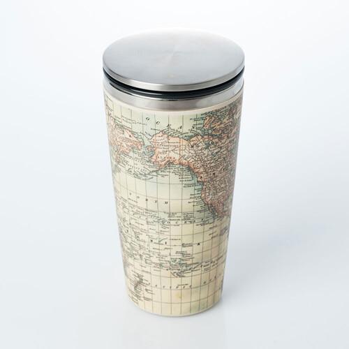 "SLIDE CUP ""ANTIQUE MAP"""