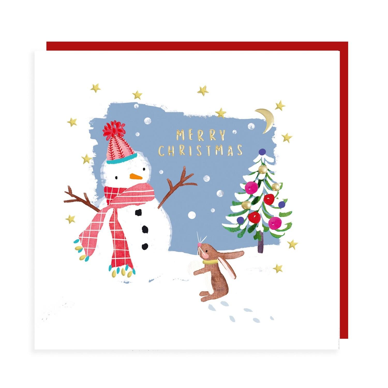"""CARTE DE NOËL """"MERRY CHRISTMAS"""""""