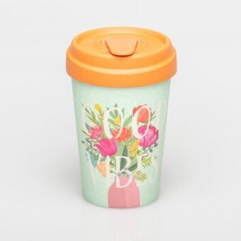 """BAMBOO CUP """"GOOD VIBES"""""""