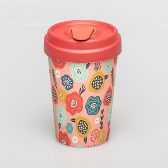 "BAMBOO CUP ""FLOWER MIX"""