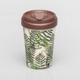 "BAMBOO CUP ""GREEN LEAVES"""