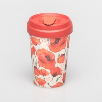 "BAMBOO CUP ""COQUELICOTS"""