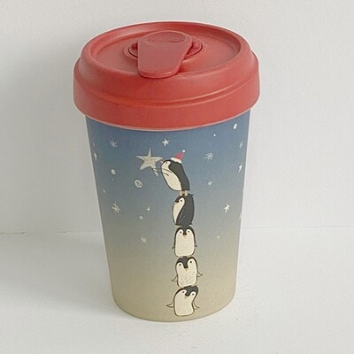 """BAMBOO CUP """"PINGUINS"""""""