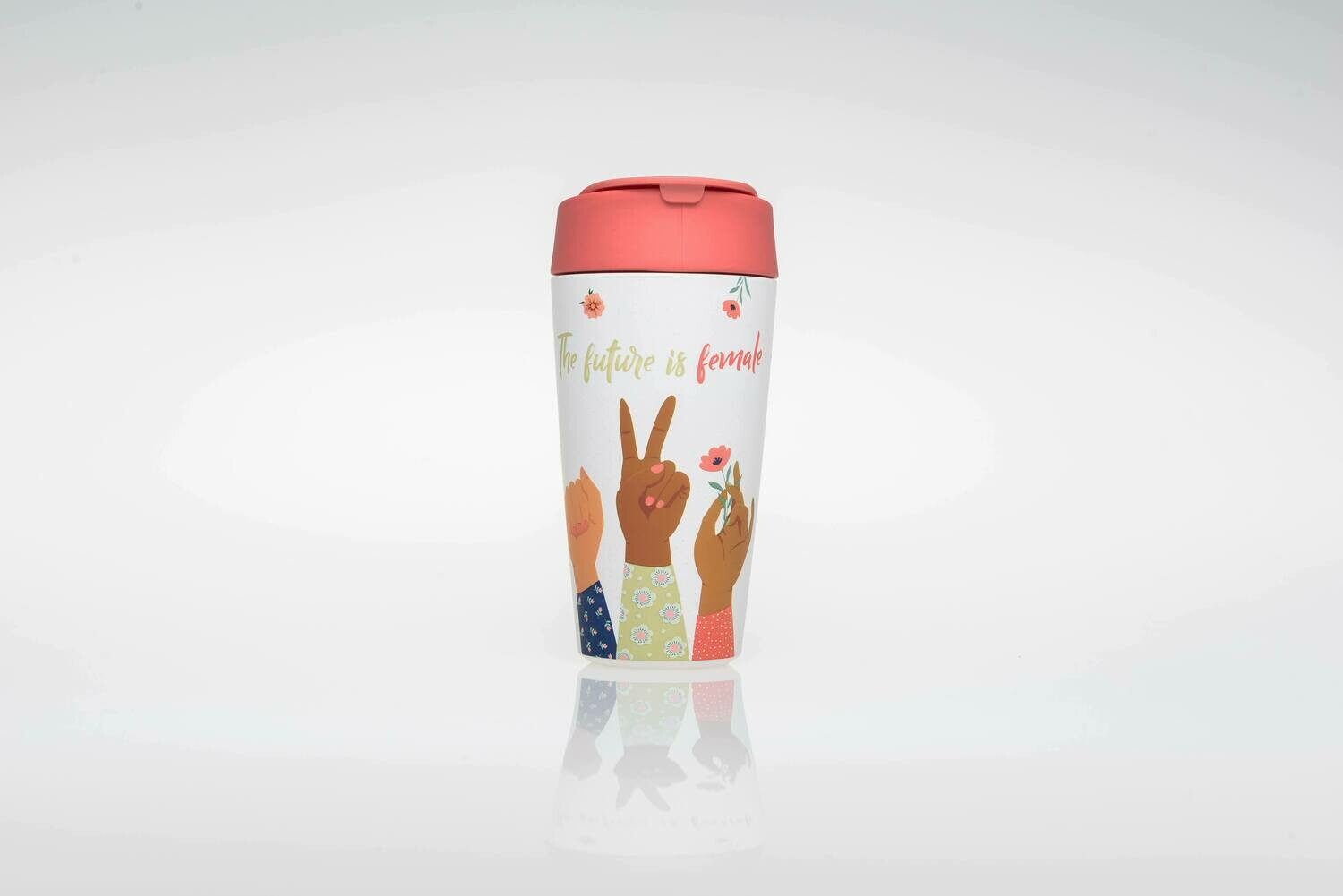 """BIOLOCO DELUXE CUP """"THE FUTURE IS FEMALE"""""""