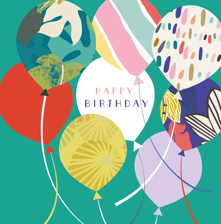 """CARTE DE VŒUX """"HAPPY BIRTHDAY"""""""