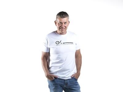 Shirt Herren B&C Weiss