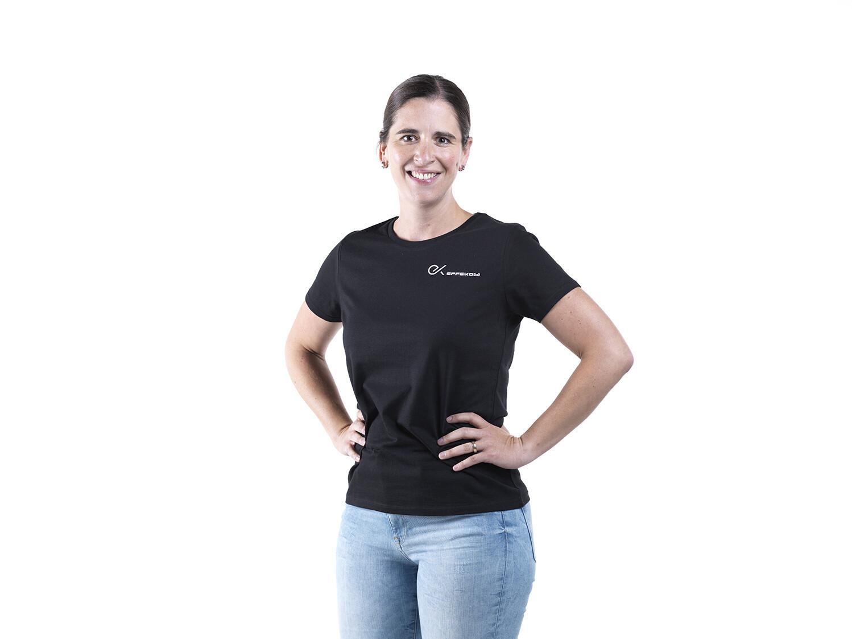 Shirt Damen B&C Trend Schwarz