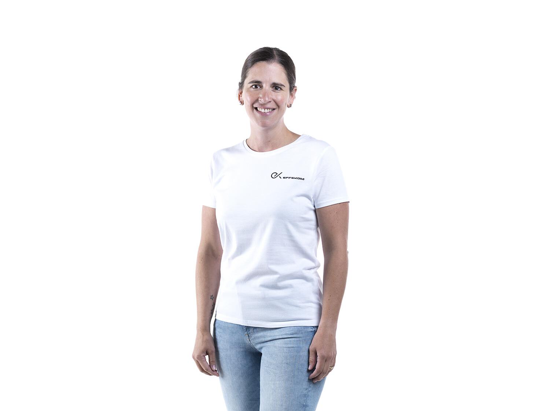 Shirt Damen B&C Trend Weiss