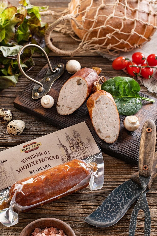 Колбаса «Мюнхенская» из курицы с шампиньонами