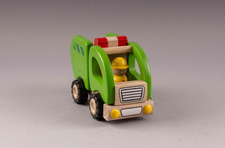 GOKI Müllwagen grün