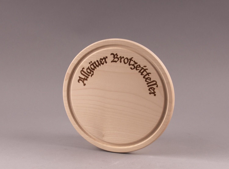 """Brotzeitbrett """"Allgäuer Brotzeitteller"""""""