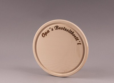 """Brotzeitbrett """"Opa´s Brotzeitbrett´l"""""""