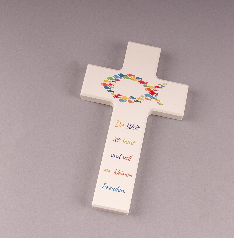 """Kinderkreuz """"Die Welt ist bunt und voll von kleinen Freuden"""