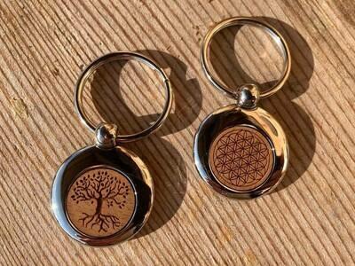 Schlüsselanhänger (glänzend)
