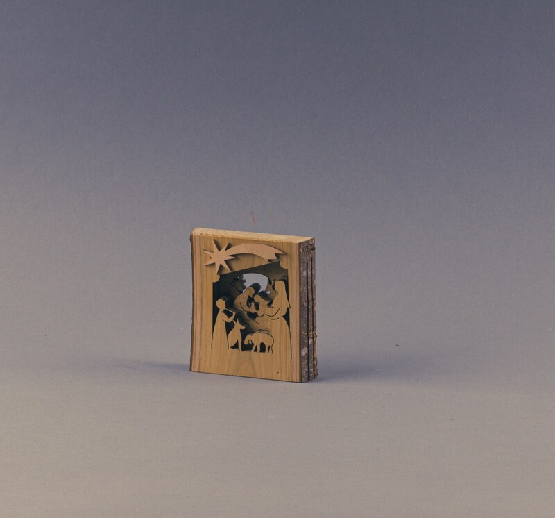 Krippenbild in 3D-Optik