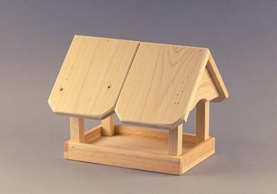 Vogelhaus schlicht und einfach