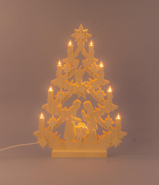 """Lichterbaum """"Christi Geburt"""""""