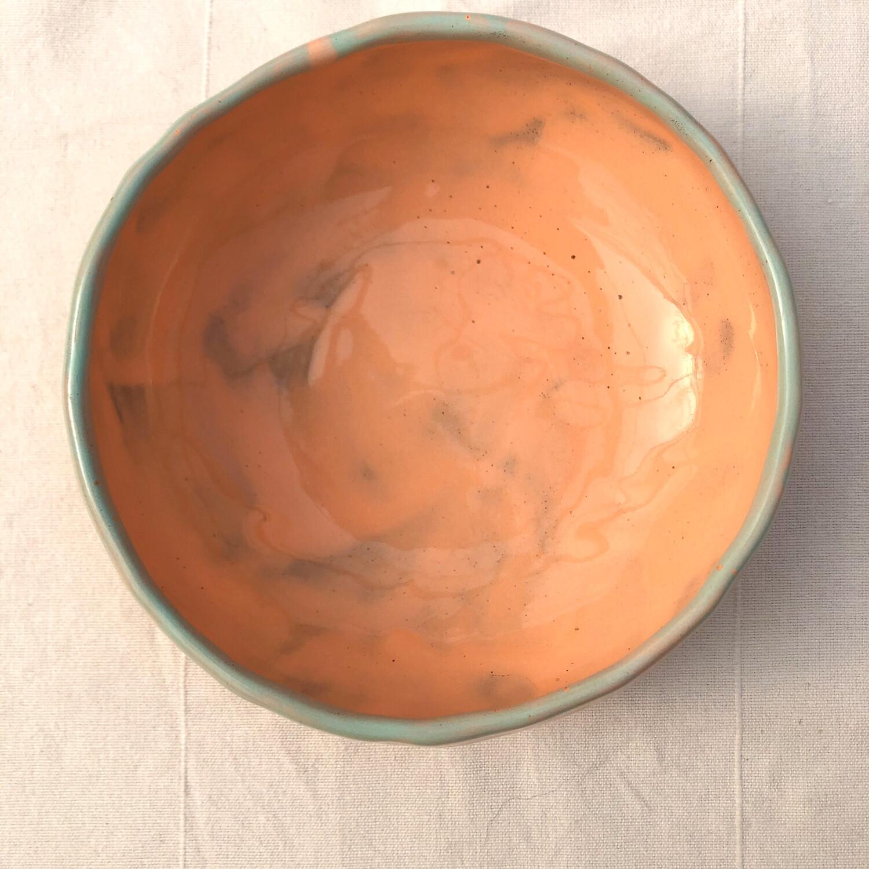 Bol supă Portocaliu
