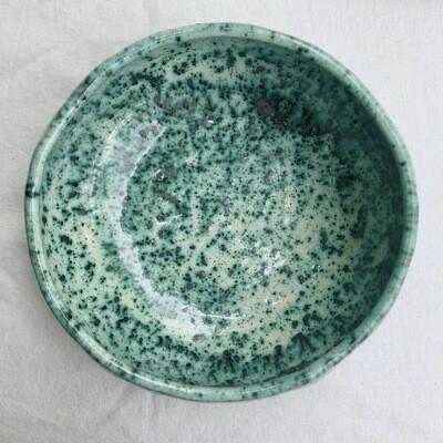 Bol supă Verde Pudrat